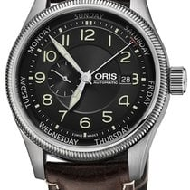Oris Big Crown Small Second Pointer Day Steel 44mm Black United States of America, New York, Airmont