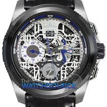 Jaeger-LeCoultre Master Compressor Extreme LAB 2 Tribute to Geophysic Titanio 46.8mm Transparente Árabes