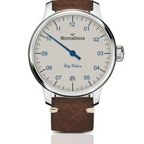 Meistersinger 43mm Automatic 2018 new N° 03 Brown