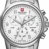 Swiss Military Stahl 39mm Quarz 06-5233.04.001 neu