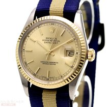 Rolex Vintage Datejust Ref-16013 18k Yellow Gold/Stainless...