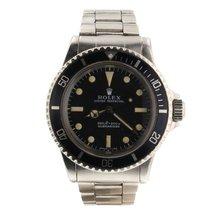 Rolex Submariner (No Date) Acero Negro