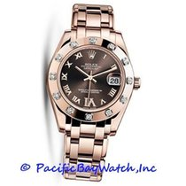 Rolex 81315 Oro rosa Lady-Datejust Pearlmaster 34mm nuevo