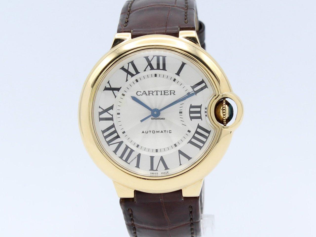 5d01e84c3dbb Cartier 'Ballon Bleu' Automatic 18K Gold 3002