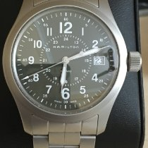 Hamilton Steel 38mm Quartz H68201163 pre-owned India, Hyderabad