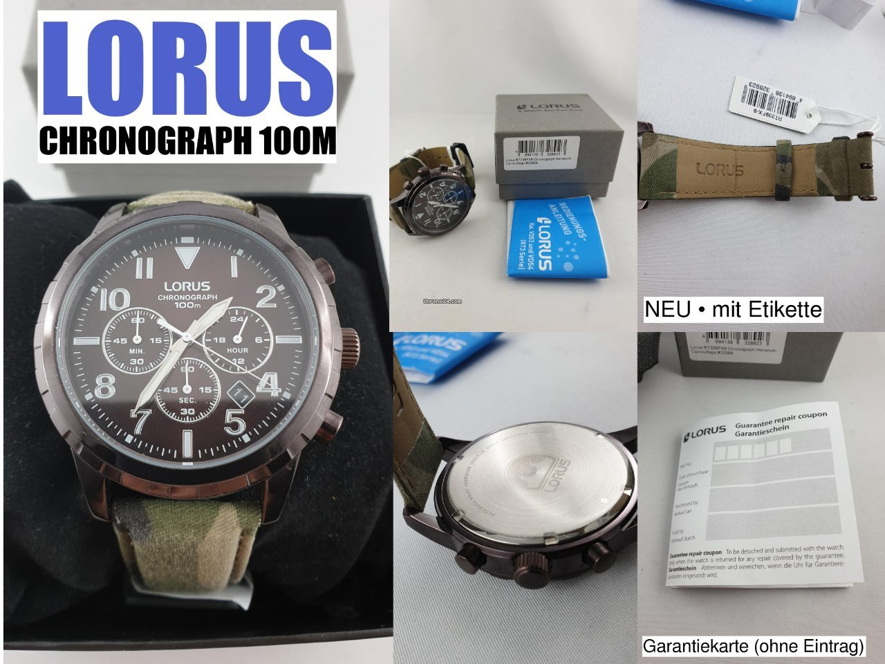 Lorus Rh935hx9 Without Return Watches, Parts & Accessories Jewelry & Watches Useful Lorus Orologio Uomo