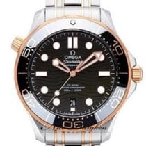 Omega Seamaster Diver 300 M 210.20.42.20.01.001 New Gold/Steel 42mm Automatic