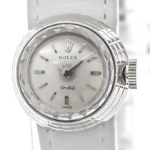 Rolex Fair White gold 17mm Manual winding