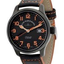 Zeno-Watch Basel NC Pilot Μαύρο