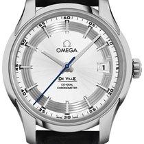 Omega De Ville Hour Vision Steel 41mm Silver No numerals