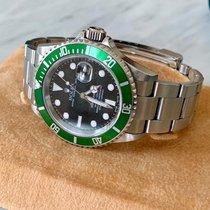 Rolex Submariner Date neu 2004 Automatik Uhr mit Original-Box und Original-Papieren 16610LV