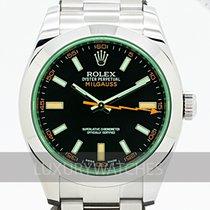 Rolex Milgauss Zeljezo 40mm Crn