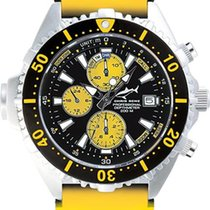 Chris Benz Depthmeter Chronograph CB-C200-YS-KBY Herrenchronog...