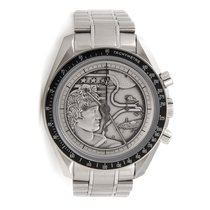 Omega Steel Manual winding Silver No numerals 42mm pre-owned Speedmaster Professional Moonwatch