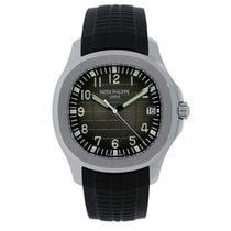 百達翡麗 Men's Aquanaut 40mm Steel Watch on Rubber Strap 5167A-001