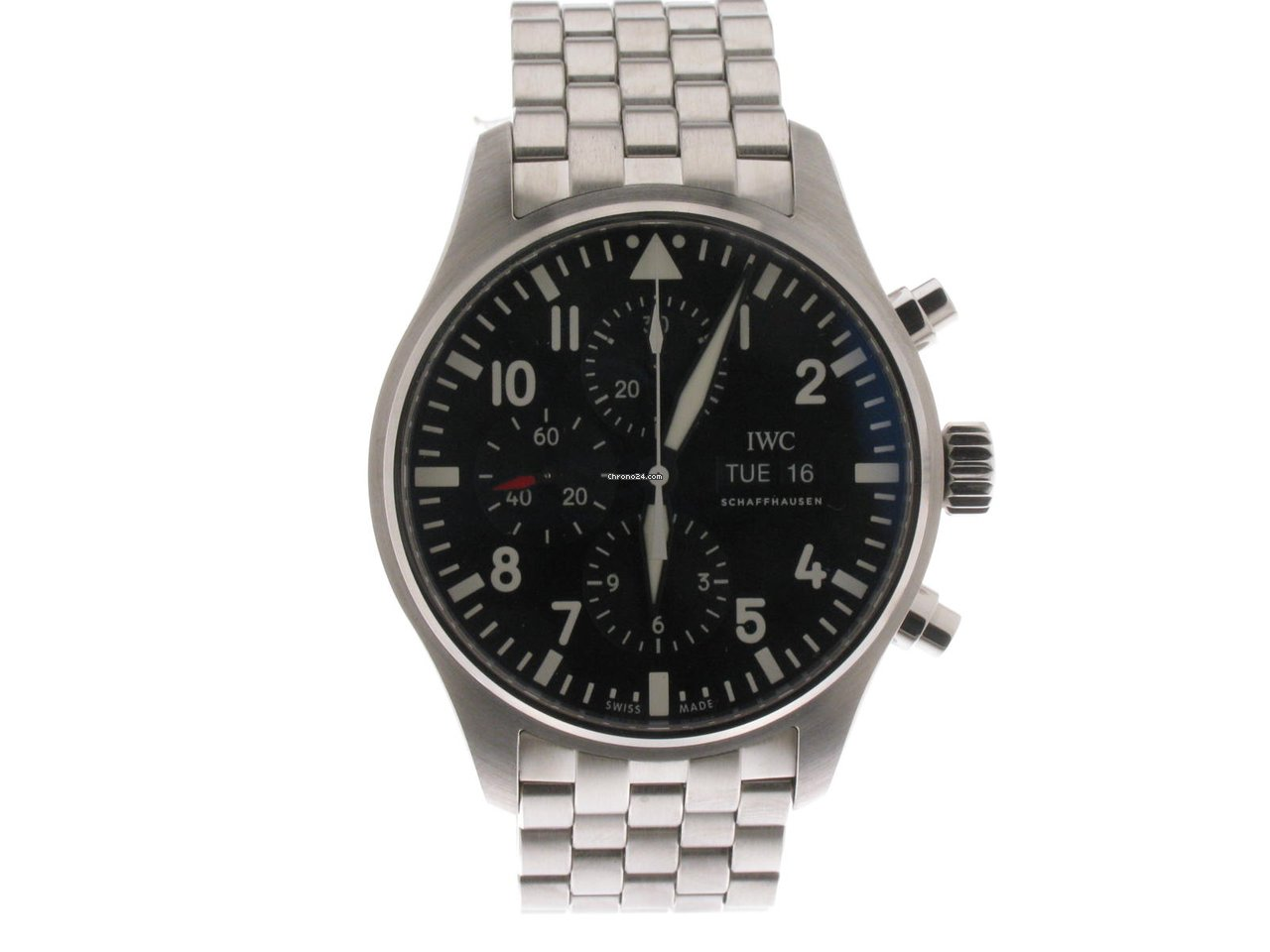IWC Pilot Chronograph IW377710 2021 new