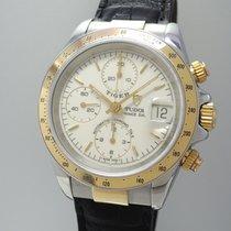 튜더 (Tudor) Tiger Prince Chronograph 79263 Stahl-Gold