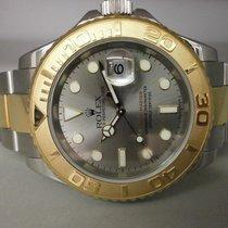 "Rolex Yachtmaster 16623 18k/ss ""f"" Series Sport Watch"