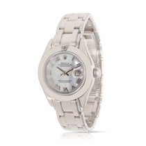 Rolex Datejust Pearlmaster 80329 Automatic Ladies Watch in 18K...