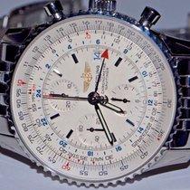 百年靈 (Breitling) Navitimer World GMT Stainless Steel Automatic