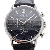 Edox Les Bémonts nuevo Cuarzo Reloj con estuche y documentos originales 10501 3 BUIN