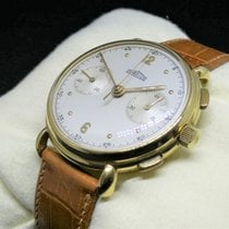 Angelus Yellow gold Manual winding White Arabic numerals 36mm pre-owned