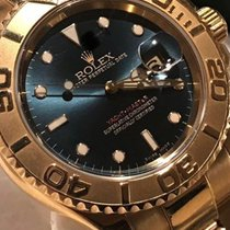 Rolex YACTHMASTER  ORO BLUE SPECIAL DIAL