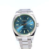 Rolex Milgauss SS 116400GV Blue 40mm