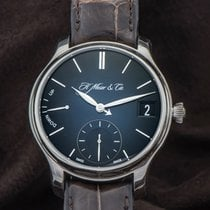 H.Moser & Cie. Palladium 41mm Remontage manuel 1341-0601 occasion France, Paris