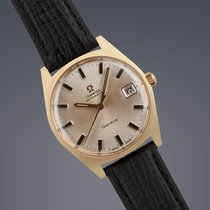 Omega Geneve gold plated automatic watch ORIGINAL DIAL/40th...
