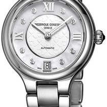 Frederique Constant Classics Delight Steel Mother of pearl United States of America, New York, Brooklyn