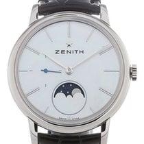 Zenith 03.2320.692/80.C714 Steel 2020 Elite Ultra Thin 36mm new
