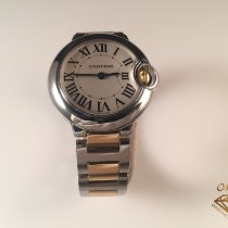 Cartier 28mm Cuarzo usados Ballon Bleu 28mm Plata