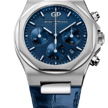 Girard Perregaux 81020-11-431-BB4A Steel Laureato new
