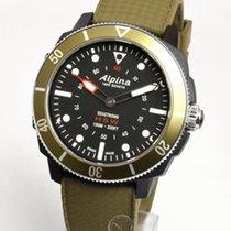 Alpina Horological Smartwatch Steel 44mm Black