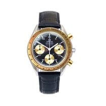 Omega Speedmaster Reduced Acero y oro 39mm Negro Sin cifras
