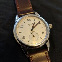 NOMOS Club pre-owned 36mm Silver Leather