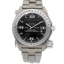 Breitling Emergency new 2005 Automatic Watch with original box and original papers E7632110/B576