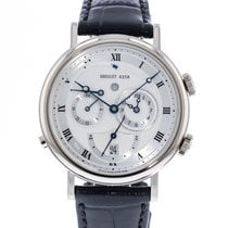 Breguet White gold Automatic Silver 39mm pre-owned Classique