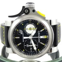 Graham Chronofighter R.A.C. Stal Czarny