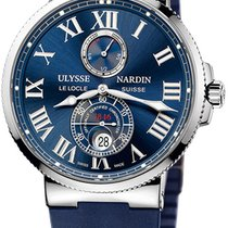 Ulysse Nardin Marine Chronometer 43mm Сталь 43mm Синий