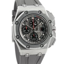 Audemars Piguet Royal Oak Offshore Chronograph Titanium 44mm Black Arabic numerals