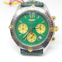 Breitling Callisto Steel 36mm Green Roman numerals
