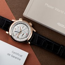 Jaeger-LeCoultre Master World Geographic Or rose 42mm Argent