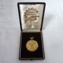 Ulysse Nardin Watch pre-owned 1925 Yellow gold 47mm Arabic numerals Manual winding Watch with original box