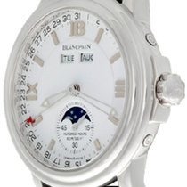 Blancpain Léman Moonphase Steel 38mm White Roman numerals United States of America, Texas, Dallas