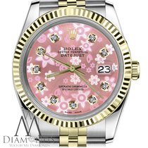 Rolex Datejust Gold/Steel 36mm Pink United States of America, New York, New York