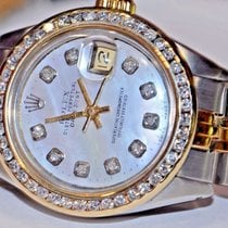 Rolex Datejust Oyster Perpetual 18K Gold Diamonds