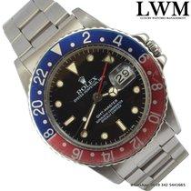 Rolex GMT Master 16750 Pepsi bezel Full Set 1985's
