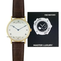 Breguet Classique Yellow gold 38mm Silver Roman numerals United States of America, New York, NEW YORK